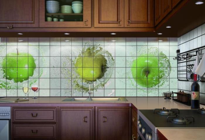 Когда кухонный фартук меняет всё.