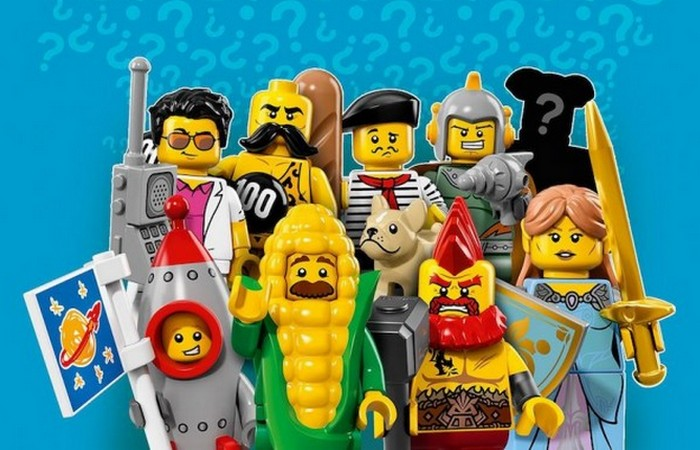 Причина того, что миниатюрные фигурки Lego желтого цвета.