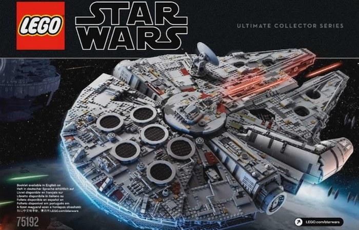 Самый большой и самый дорогой набор Lego.