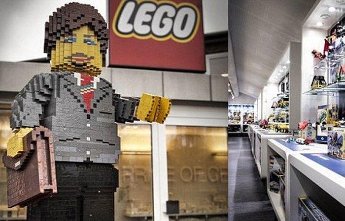 Маркировка каждого кирпича Lego.