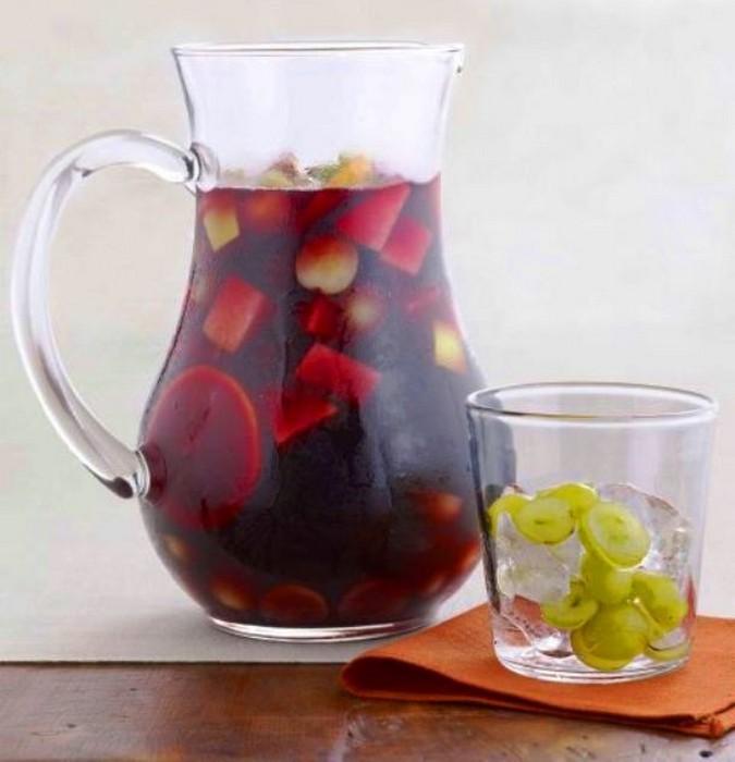 Замороженная виноградная сангрия