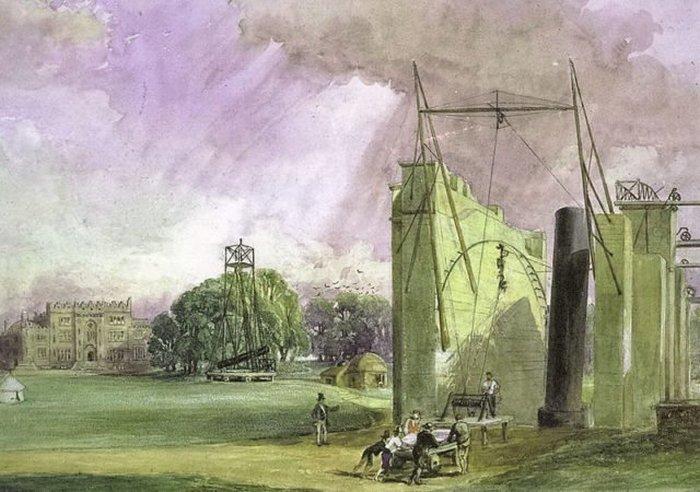 Сегодня «Левиафан» по-прежнему стоит рядом с замком семейного поместья Парсонсов в ирландском графстве Оффали.