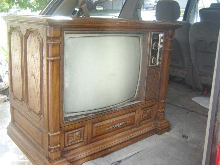 Прабабушкин телевизор.