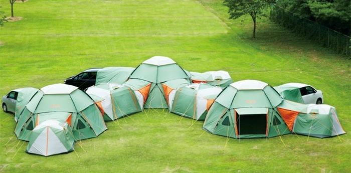 Палаток много не бывает.