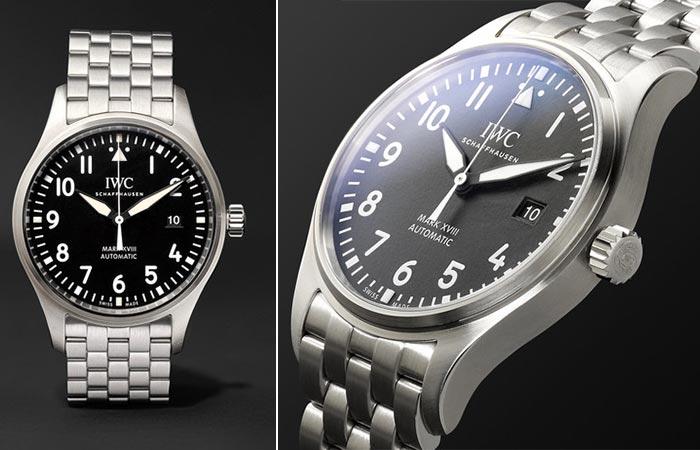 Часы от IWC «Schaffhausen Mark XVIII».
