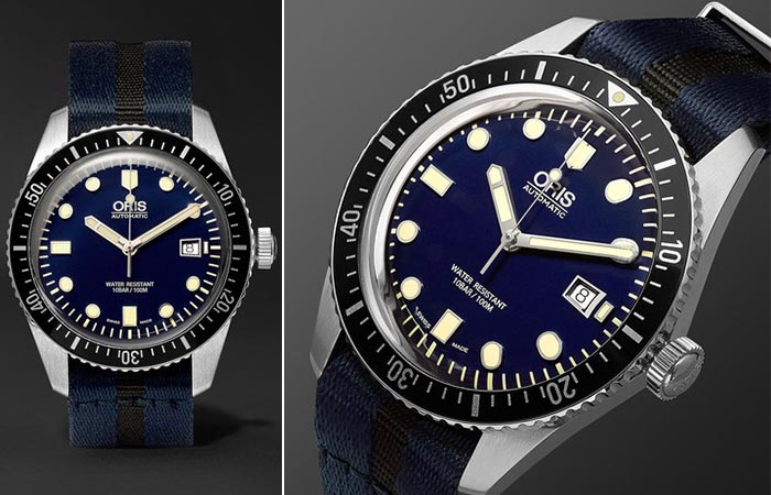 Часы от Oris «Divers Sixty-Five».