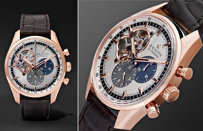 Часы от Zenith «El Primero Chronomaster».