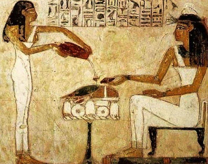 Египетские масла.