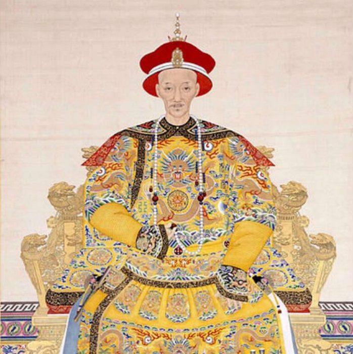 Макияж для китайских императоров.