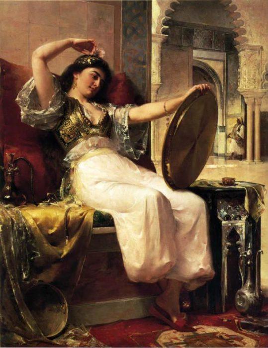 Обитательница султанского гарема.