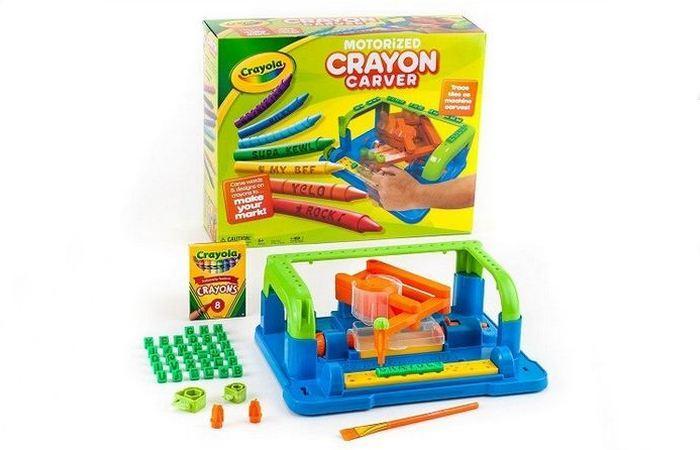 Моторизованный нарезчик Crayon Carver от Crayola.