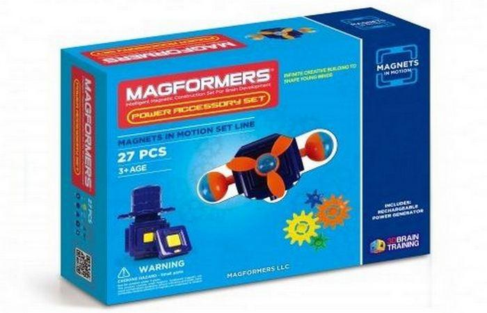 Конструкторы на магнитах Magformers.