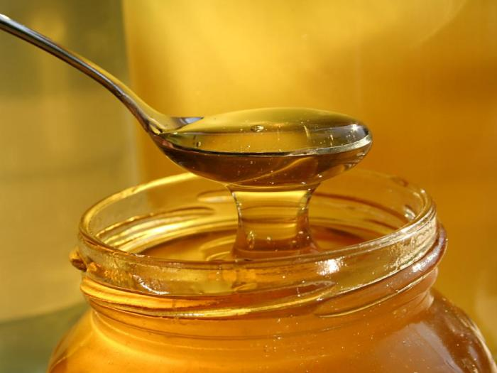 Мёд - прекрасное антибактериальное средство.