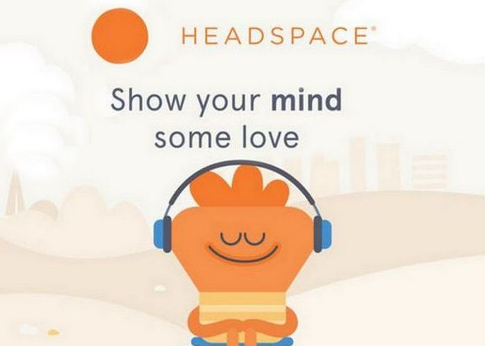Приложение «Headspace: Guided Meditation».