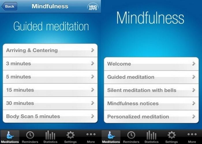 Приложение «Mindfulness».