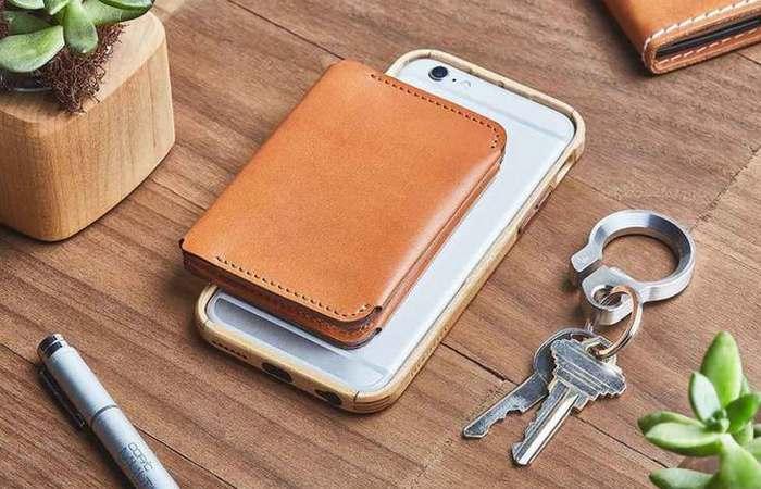 Традиционный кошелек от Bophold от Grovemade.