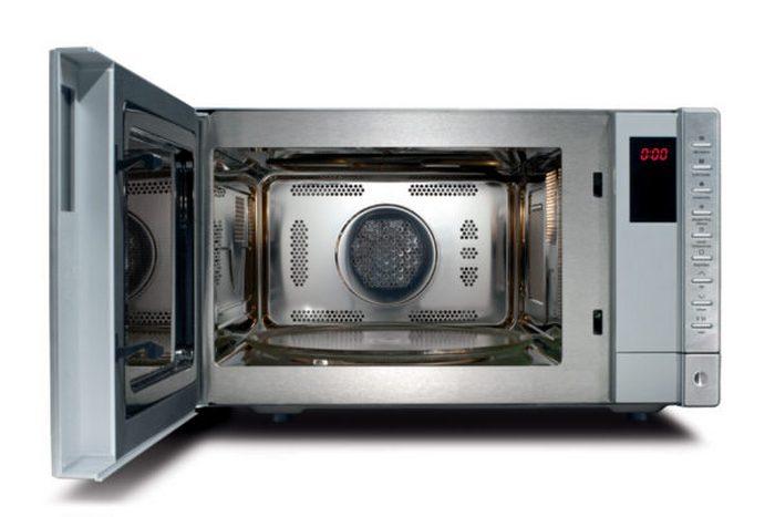 Конвекционный вентилятор, встроенный в микроволновую печь.