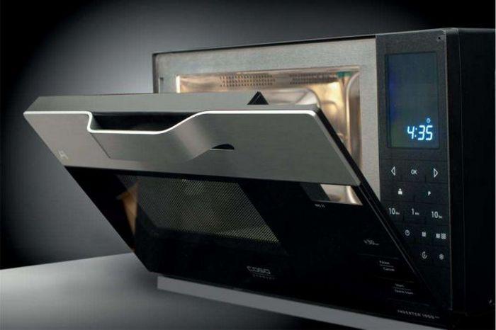 Инверторная микроволновая печь.