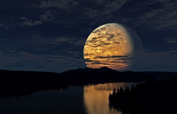 Уникальное вращение Луны.