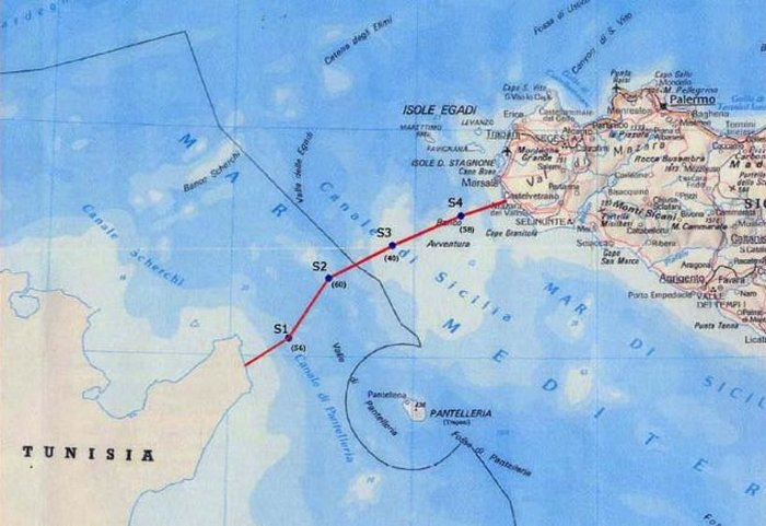 Тоннель Сицилия-Тунис.