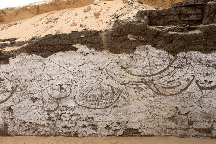 Склеп кораблей неподалёку от города Абидос.