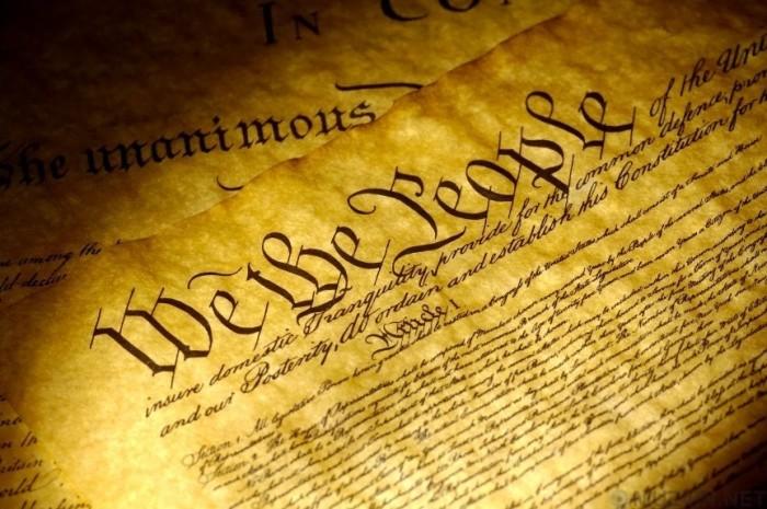 фДубликат Декларации независимости США.