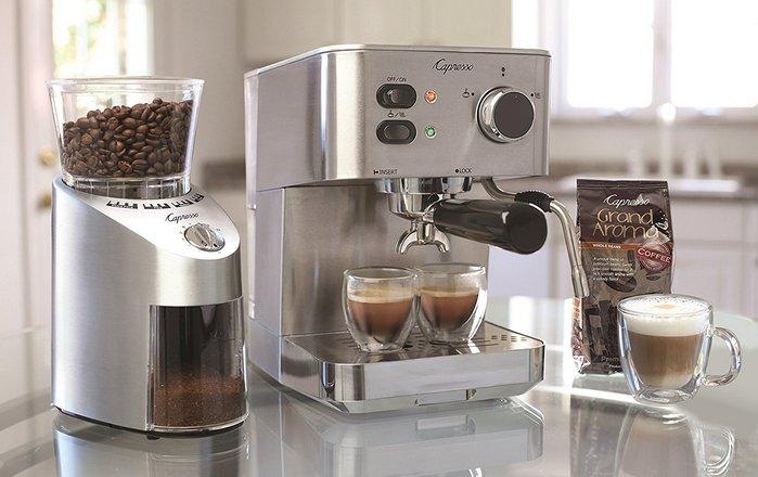 Новинка 2018 года: кофеварка из нержавеющей стали «Capresso 591.05».