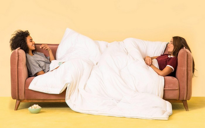 Новинка 2018 года: ватное одеяло «Buffy».