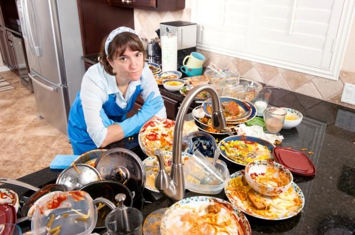 Беспорядок на кухне - враг стильного интерьера.
