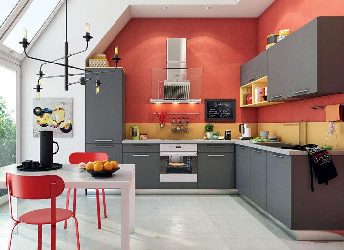 Обновить кухонные фасады.