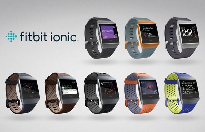 Технологическая новинка 2017 года: «Fitbit Ionic».