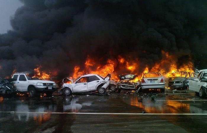 Ночной кошмар: «Автомобильная катастрофа».