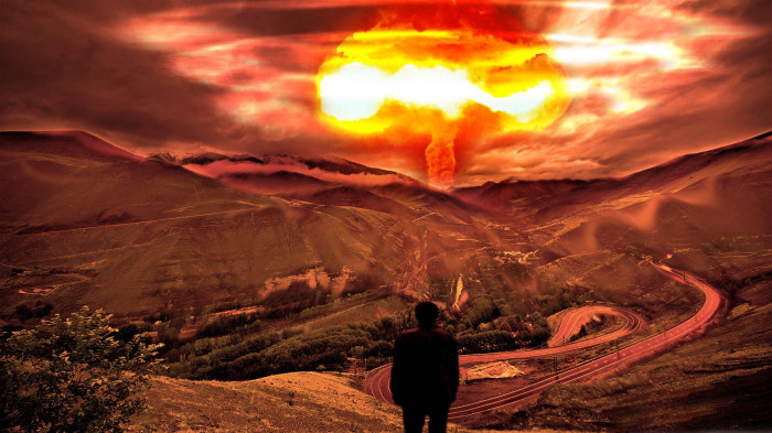 Ядерная война.