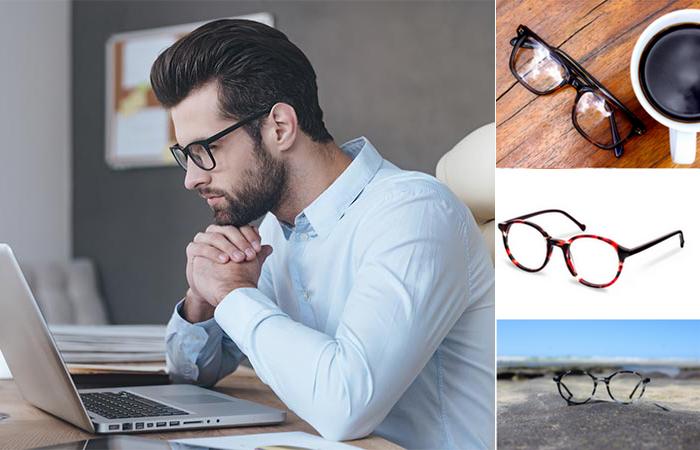 Очки EXYRA - стильное спасение для людей, много работающих с компьютером.