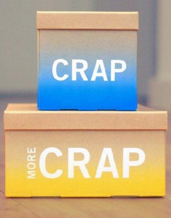 Офисный гаджет: коробки для «бумажной чуши».