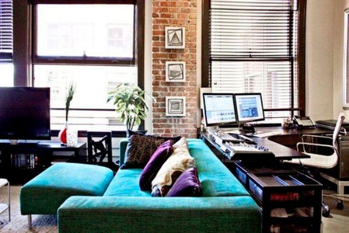 Полноценный офис за диваном - реальная затея.