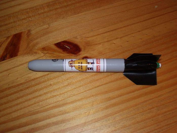 Ракета на жидком топливе.