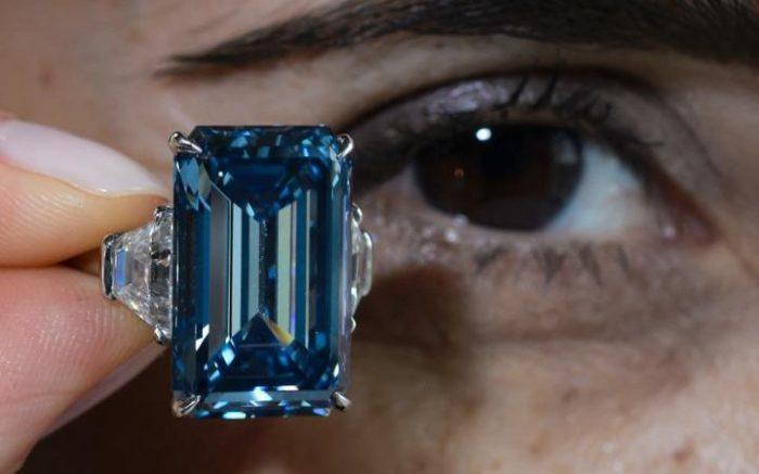 Oppenheimer Blue - бриллиант за $ 57,5 миллиона