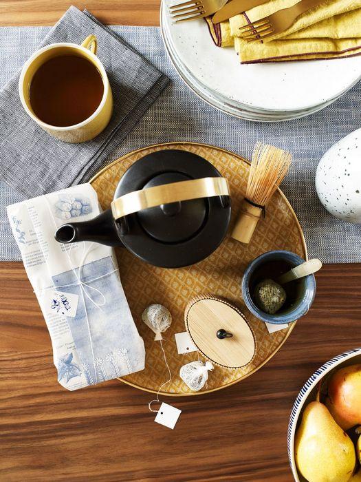 Восточный декор: «Чайная церемония».
