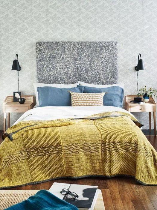 Восточный декор: «Контрасты в спальне».