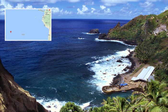 Острова Питкэрн: где-то далеко в Тихом океане.