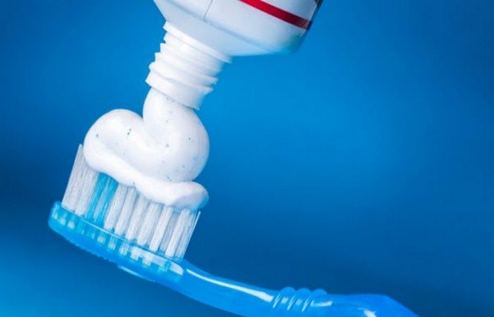 Возможна передозировка: зубная паста.