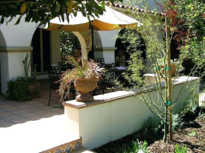 Уютный внутренний дворик.