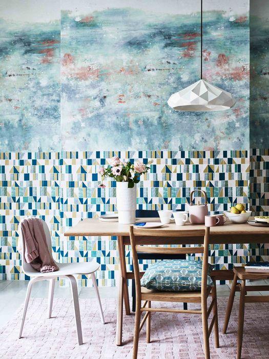 Шаблонные паттерны в дизайне интерьера дома: «Новая перспектива».
