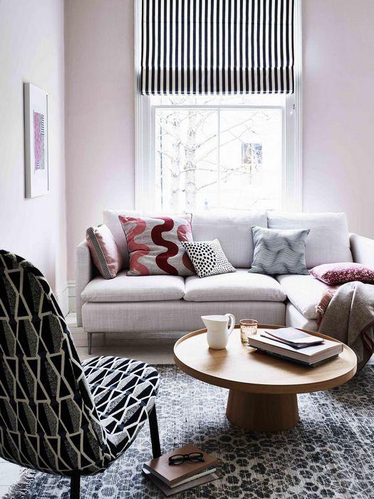 Шаблонные паттерны в дизайне интерьера дома: «Нарисовать линии».