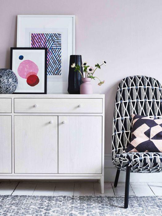 Шаблонные паттерны в дизайне интерьера дома: «Осторожное столкновение стилей».