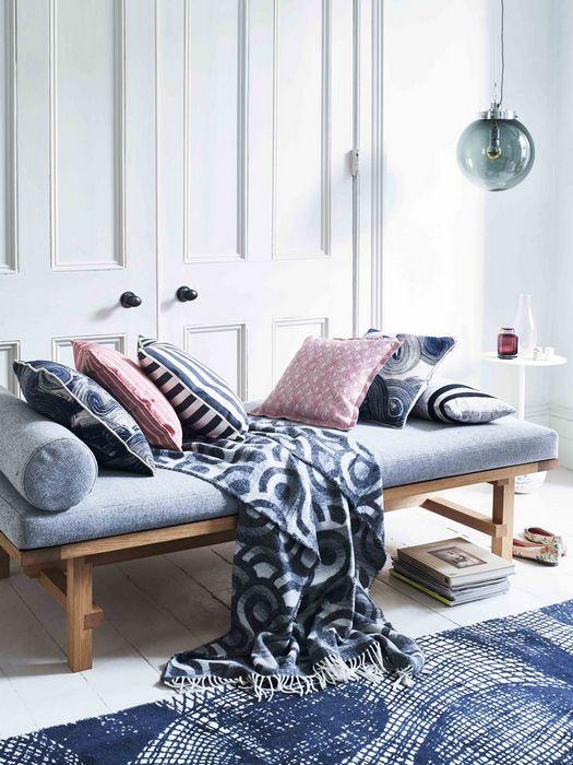 Шаблонные паттерны в дизайне интерьера дома: «Минимум оттенков».