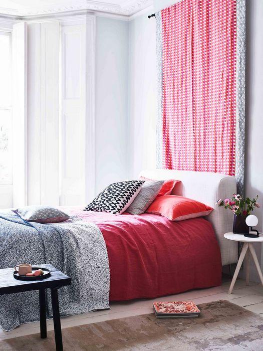 Шаблонные паттерны в дизайне интерьера дома: «Контрасты яркого и приглушенного».