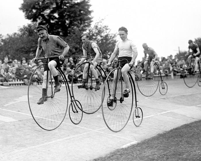Прокатиться на таком велосипеде - особый шик.