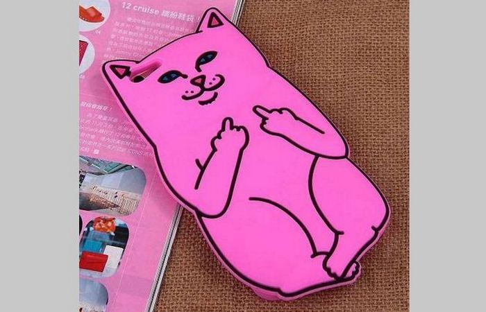 Чехол для телефона: «Нахальная кошка»